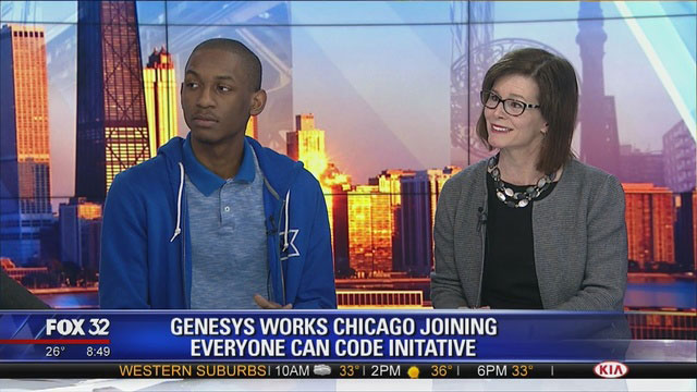 Genesys Works Chicago Joins the Everyone Can Code Initiative